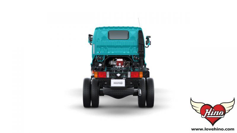 HINO 300 Innovator XZU650R ด้านหลัง