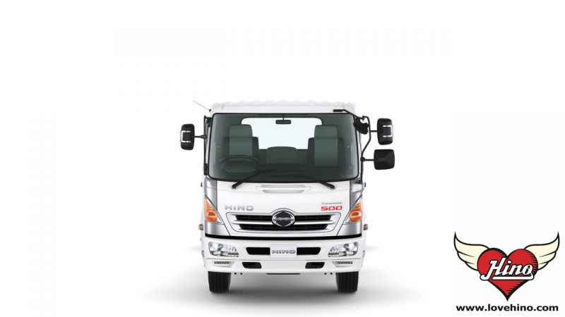 FC9JJLA_FC9JJMA รถบรรทุก 6 ล้อกลาง HINO 500 Dominator HINO ด้านหน้า