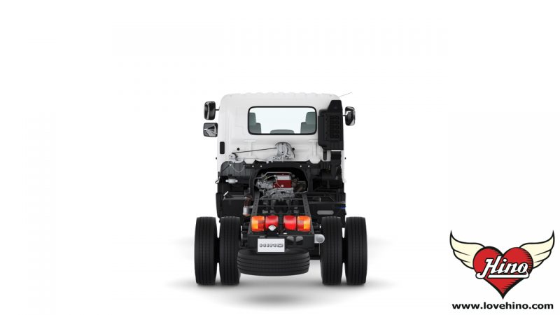 FC9JJLA_FC9JJMA รถบรรทุก 6 ล้อกลาง HINO 500 Dominator ด้านหลัง
