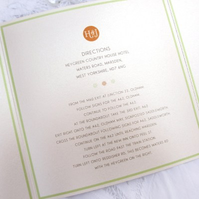 Wedding Additional Information Spring Blossom by Love Invited