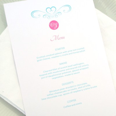 Wedding Invitation Number Sweetheart by Love Invited