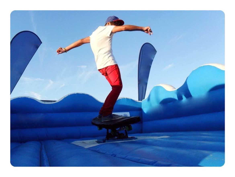 Aluguer skate mecânico