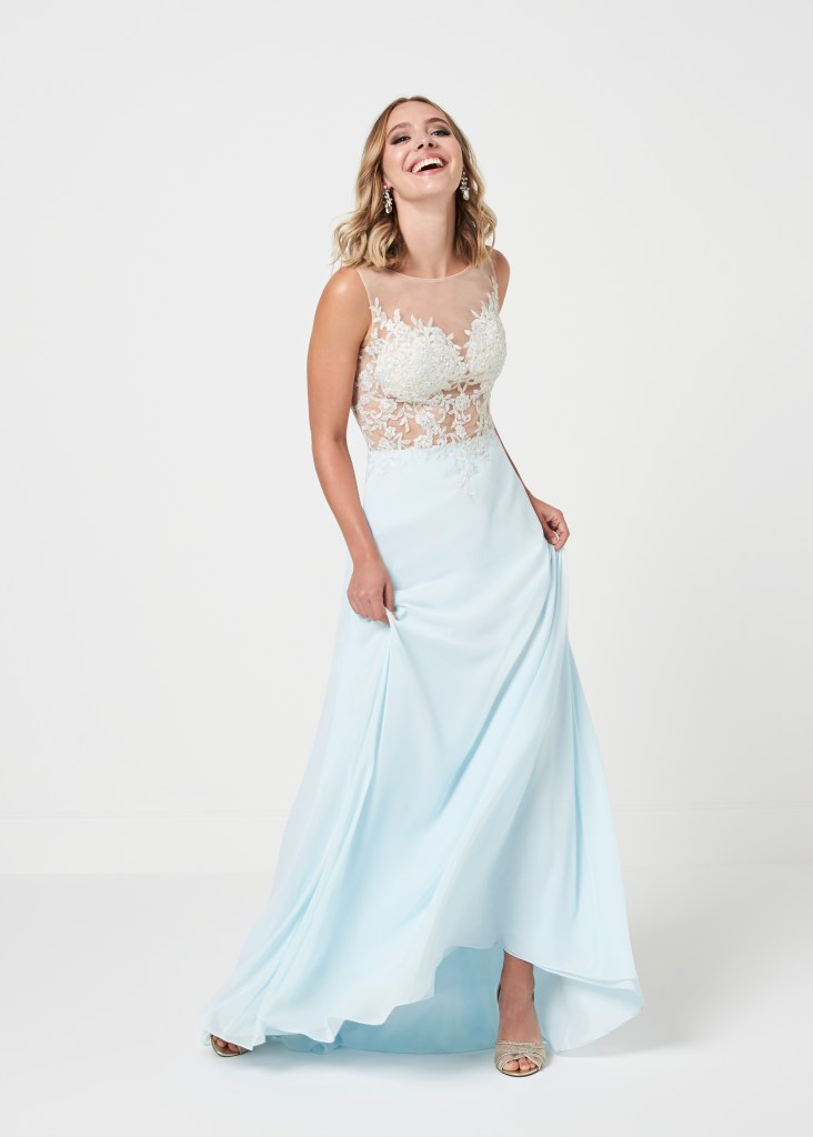 prom dress a139 front