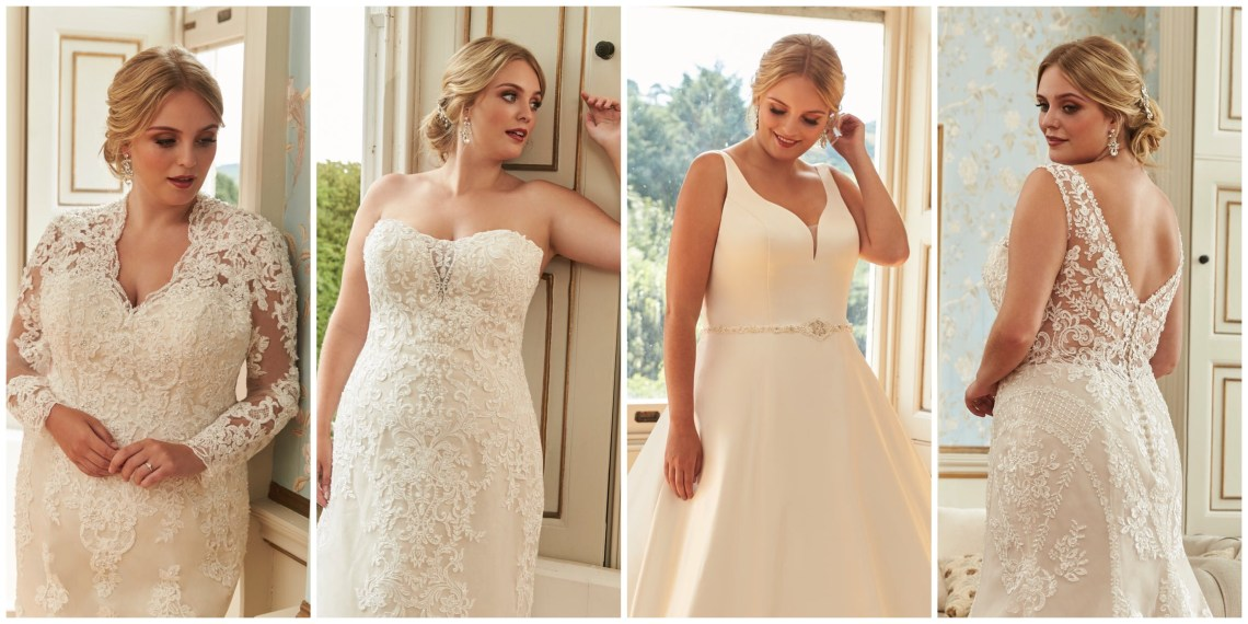 Silhouette wedding dresses by Romantica of Devon