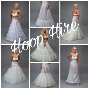 Wedding Dress Hoop Hire