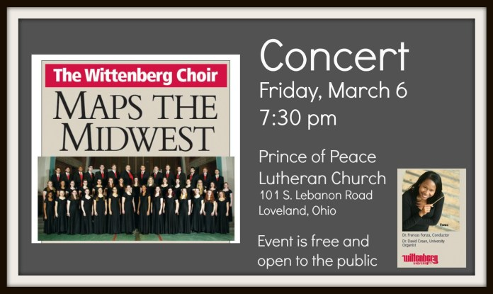 Wittenberg Concert March 6_Prince of Peace