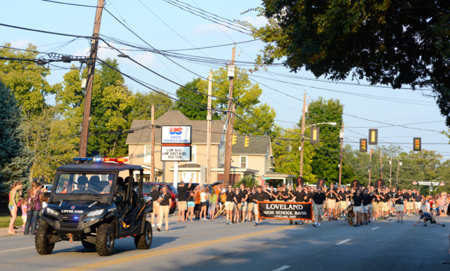Loveland Athletic Boosters 2015 Homecoming Parade