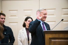 Ted Phelps accepts his council seat