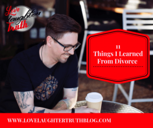 Things I learned from divorce