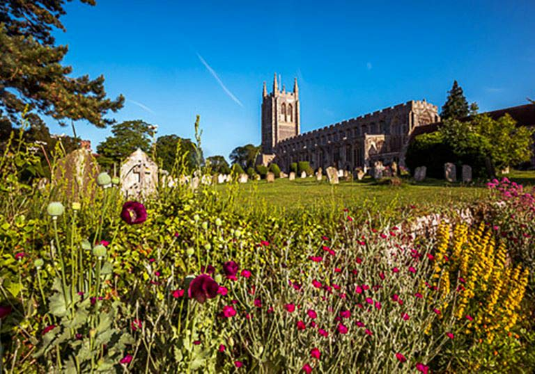 Long Melford, Suffolk, Love Lavenham