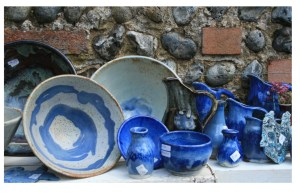 Potters And Friends - Art and Craft Fair, Lavenham, Suffolk