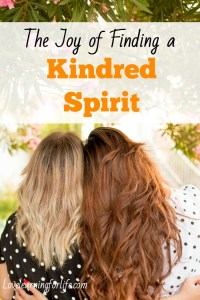 The Joy of Finding a Kindred Spirit
