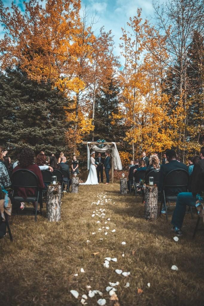 boho wedding day