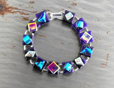 Fused Glass Bracelet