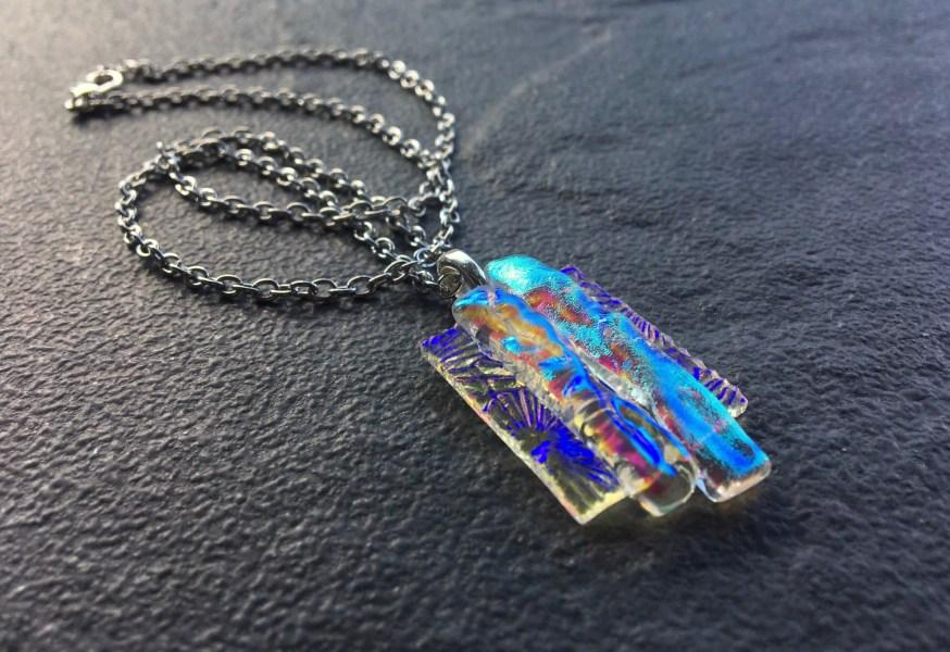 Love Life Live Life, Fused Glass Jewelry, Gatlinburg Tennessee