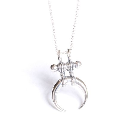 Silver Vagabond necklace lovelings