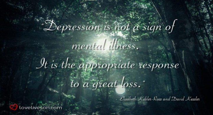 Stages of Grief Meme: Depression