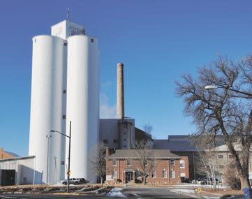Western Sugar Co-op factory in Lovell, WY.