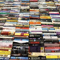 trestle of books