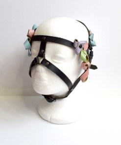 Pastel Leather HeadPiece