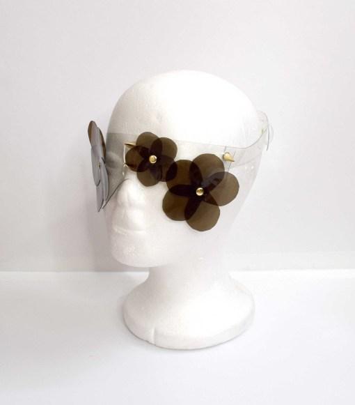 PVC Floral Blindfold