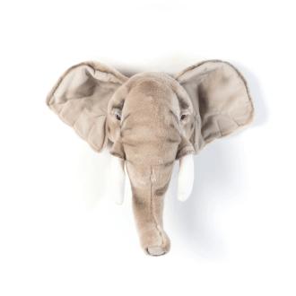 Trophée éléphant Bibib en peluche