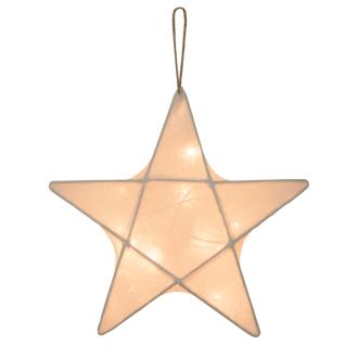 Veilleuse étoile écrue Numero74
