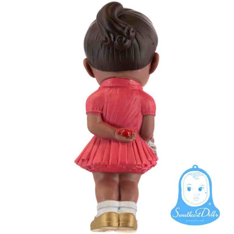 Sweetheart Dolls - Poupée rétro robe rouge