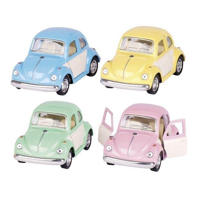 Mini voiture coccinelle pastel Goki imitation Volkswagen