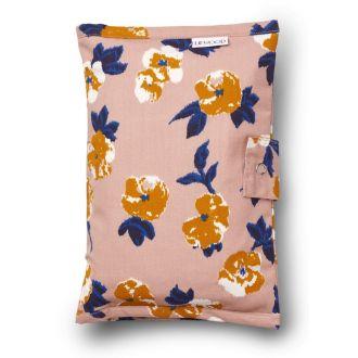 LIEWOOD pochette à langer fleurs en coton bio.