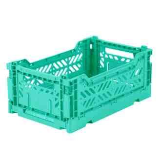 Cagette en plastique recyclé mint Eef Lillemor.