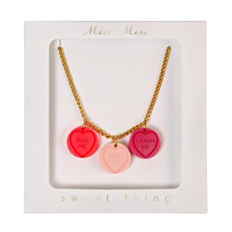 Meri Meri-Collier Charms Love