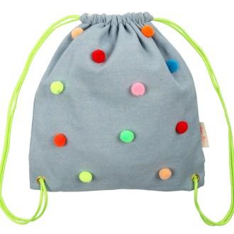 Meri Meri -Sac à dos pompons multicolores