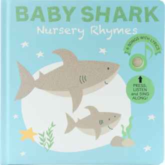 Livre sonore et musical Baby Shark par Cali's books
