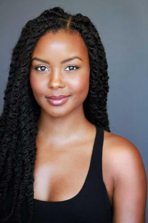 Pretty Black Woman Hair Styles Hairstyles Amp Haircuts