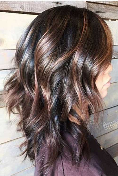 Pretty And Stylish Brunette Haircuts Hairstyles