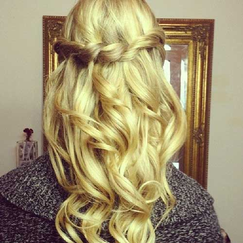 20 Down Hairstyles For Prom Hairstyles And Haircuts