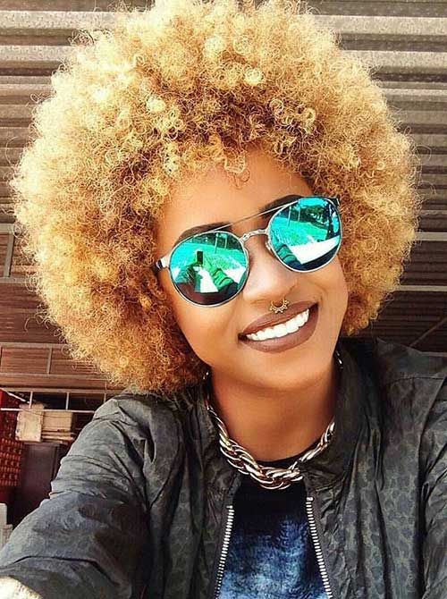 30 Best Afro Hair Styles Hairstyles Amp Haircuts 2016 2017