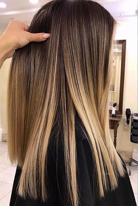 28 Ombre Straight Hair Styles Hairstyles Amp Haircuts 2016