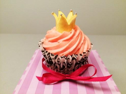 Krönchen Cupcake