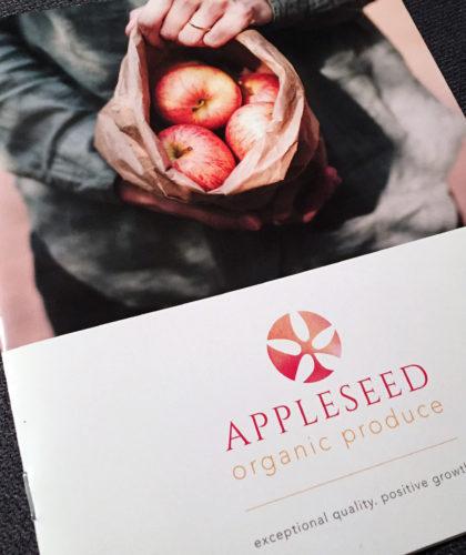 Appleseed Organic Produce brand design
