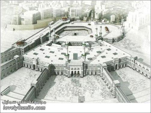 توسعة المسجد الحرام عبر التاري