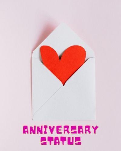 Anniversary status Image