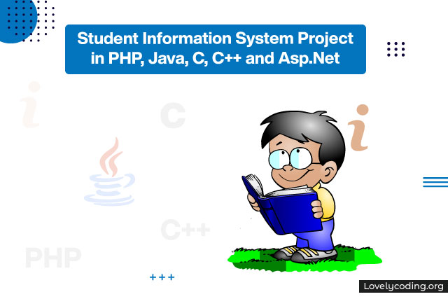 Student Information System Project in PHP, Java, C, C++ and Asp.Net