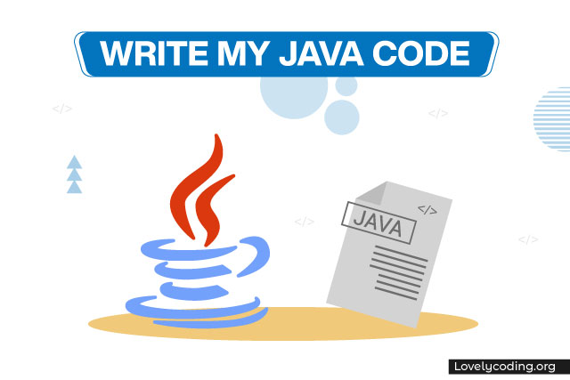 Write My Java Code