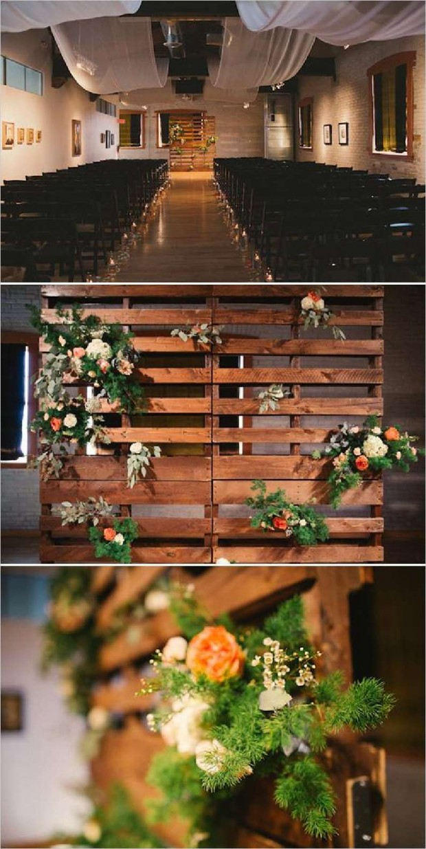 Dcoration Mariage Avec Palettes Lovely Day