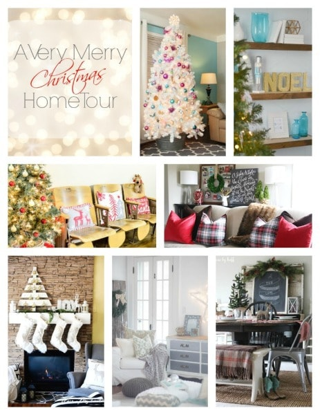 Tuesday home tour collage