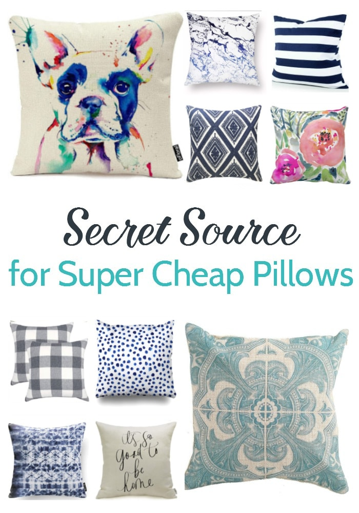 for cheap throw pillow covers