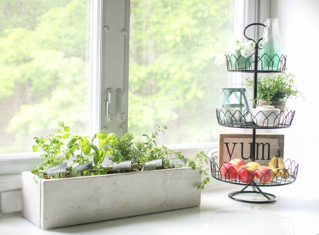 How To Create A Beautiful Kitchen Herb Garden Lovely Etc