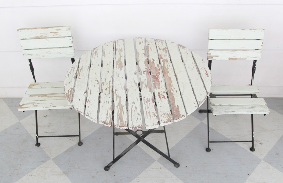 how to paint outdoor furniture like a